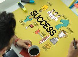BUSINESS FINANCE COMMUNICATION ACHIEVEMENT AND SUCCESS CONCEPT